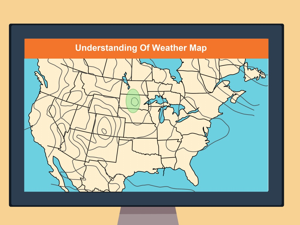 How To Read A Weather Map (With Pictures) - Wikihow - Printable Weather Maps For Students