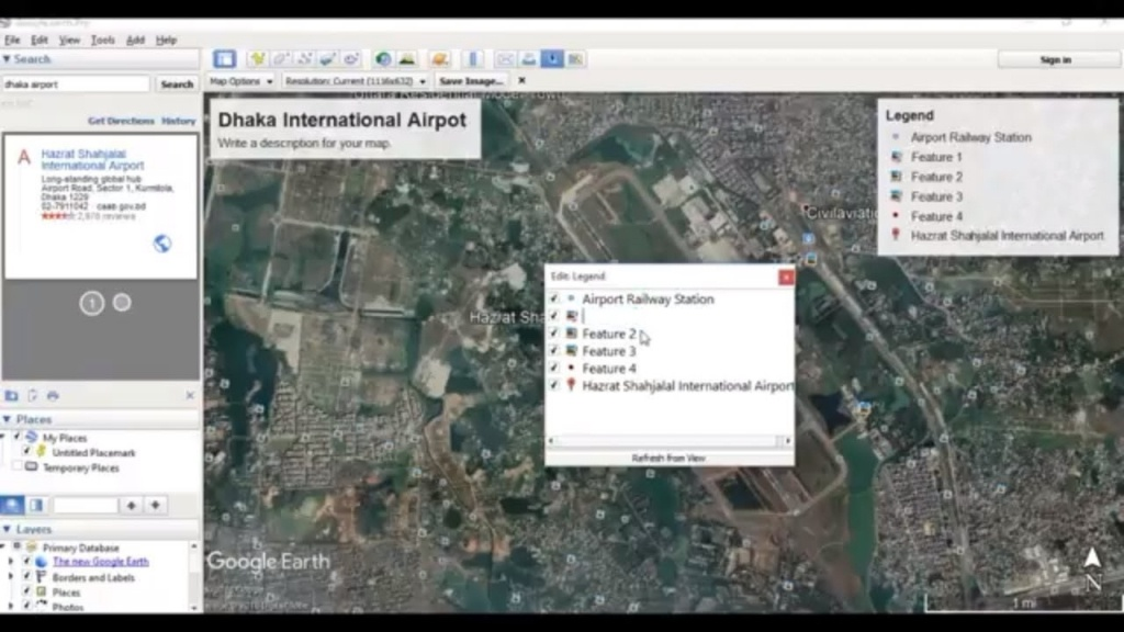 How To Save Image And Print From Google Earth - Youtube - Google Earth Printable Maps