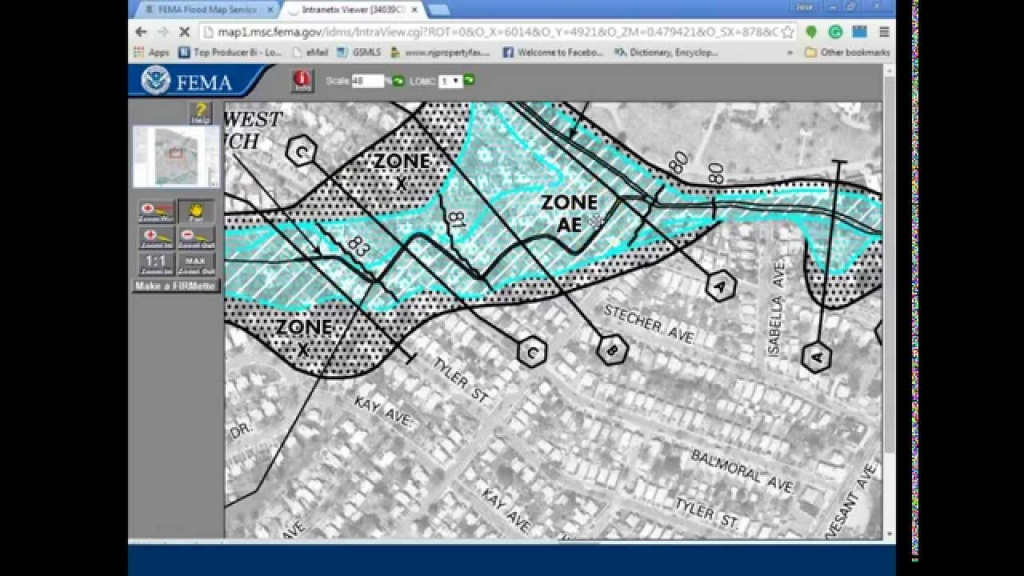 How To Use The Fema Flood Map Search - Youtube - Fema Flood Maps Texas