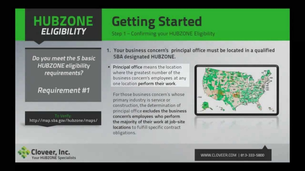 Hubzone Application – 8A Certification And Hubzone Certification Blog - Hubzone Map Texas