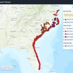 Hurricane Matthew: Flood Resources And Tools   Florida Flood Map