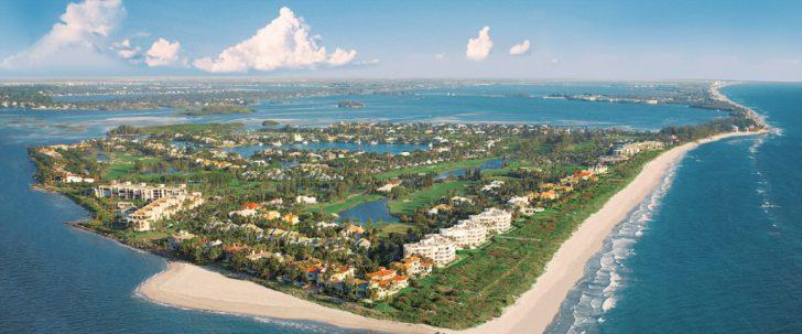 Hutchinson Beach Florida Map