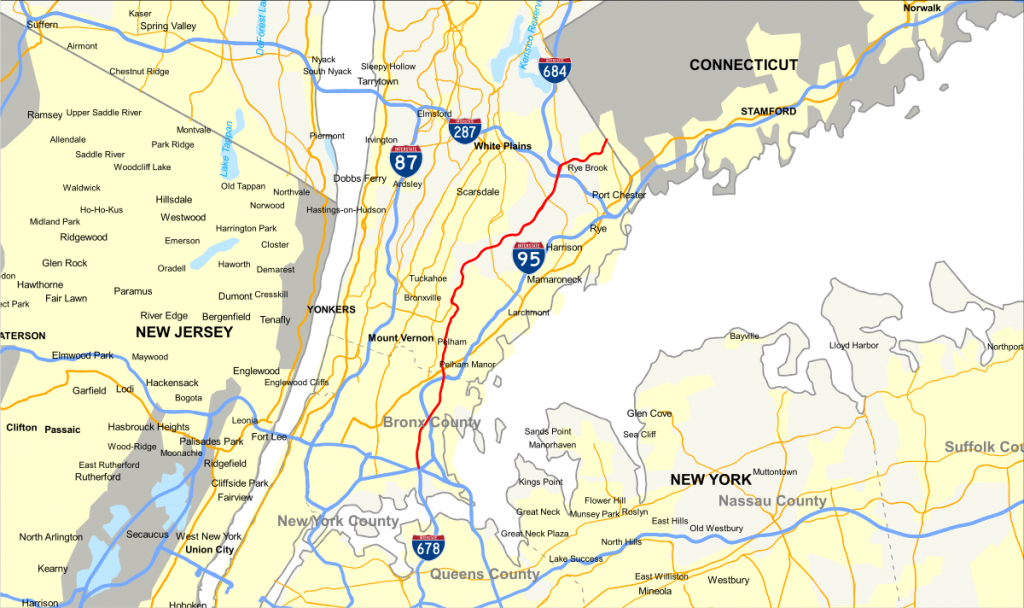 Hutchinson River Parkway - Wikipedia - Hutchinson Beach Florida Map