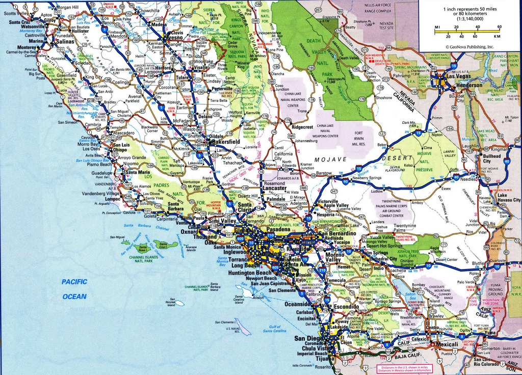 Hwy Map California And Travel Information | Download Free Hwy Map - California Road Map Free
