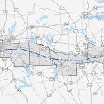I 20 East Texas Corridor Study   Texas Mile Marker Map I 20