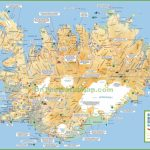 Iceland Tourist Map   Maps Of Iceland Printable Maps