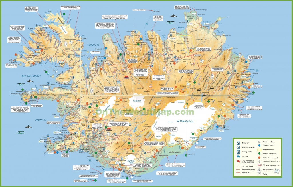 Iceland Tourist Map - Printable Tourist Map Of Iceland