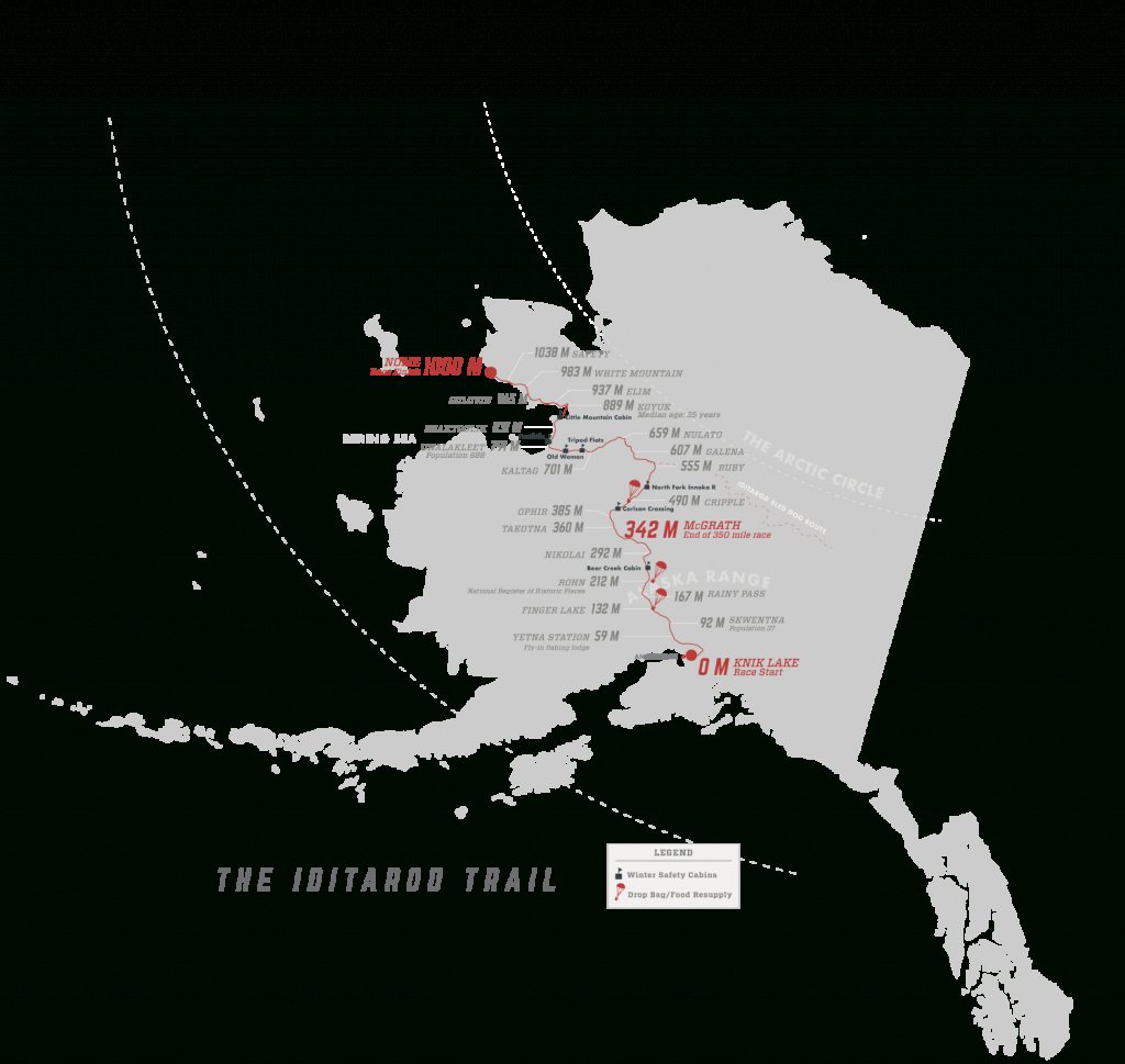 Iditarod Trail Map Related Keywords & Suggestions - Iditarod Trail - Printable Iditarod Trail Map