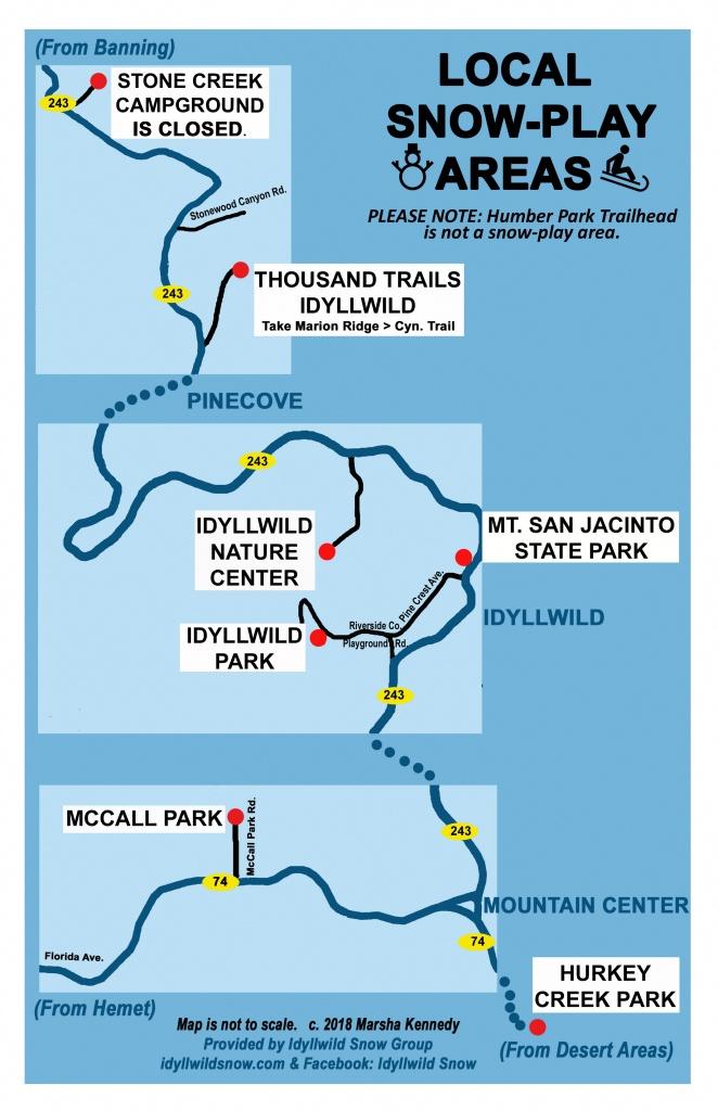 California Chain Control Map