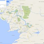 If Frodo & Sam Had Google Maps Of Middle Earth – Brilliant Maps   Free Printable Satellite Maps