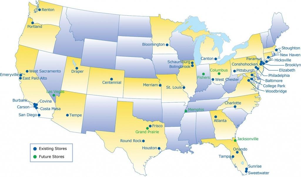 Ikea Locations | Amir Mann Ami Shinar Architects And Planners Ltd - Ikea Locations California Map