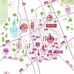 Illustrated Map Of Milpitas, Californianate Padavick For Campus – Milpitas California Map