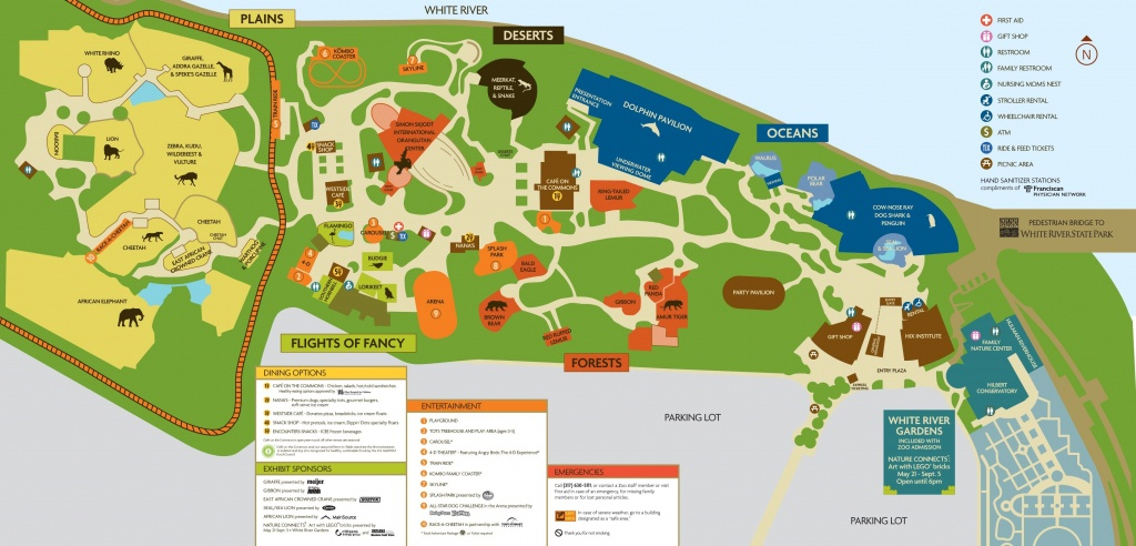 Image Result For Indianapolis Zoo Map | Zoo's And Animal Stuff - Zoos In Florida Map