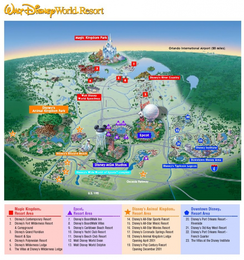 disney florida map google   Printable Maps