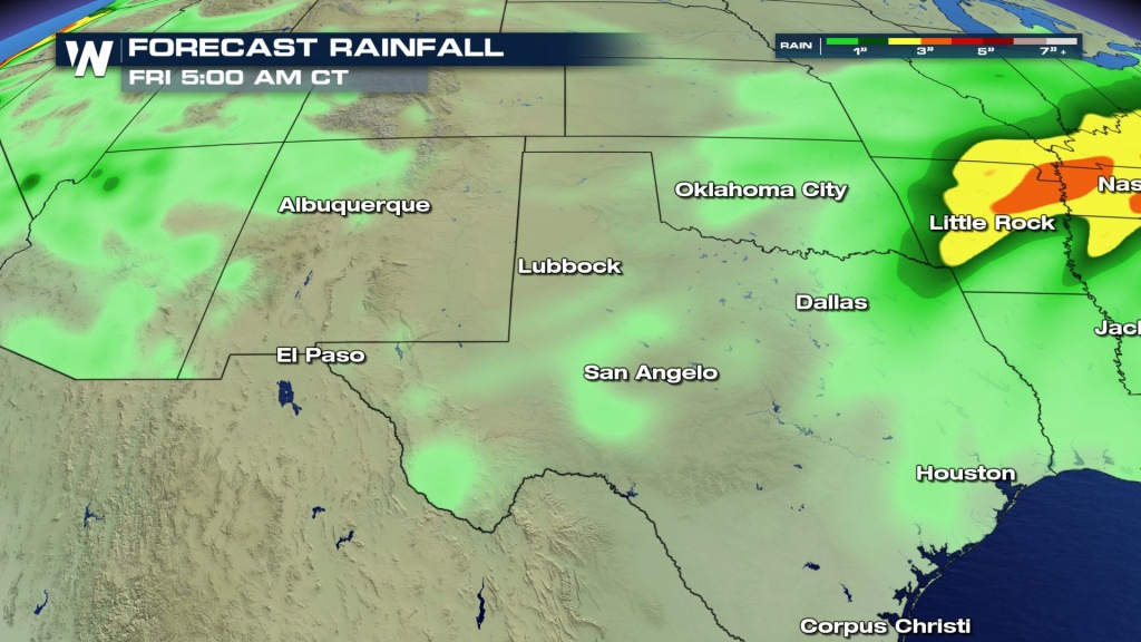 Increasing Fire Weather Risk Monday From Southeast New Mexico To - West Texas Weather Map