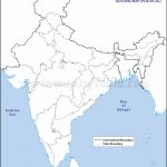 India Political Map In A4 Size   Physical Map Of India Outline Printable