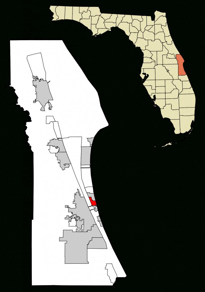 Indian Harbour Beach, Florida - Wikipedia - Indian Harbor Beach Florida Map