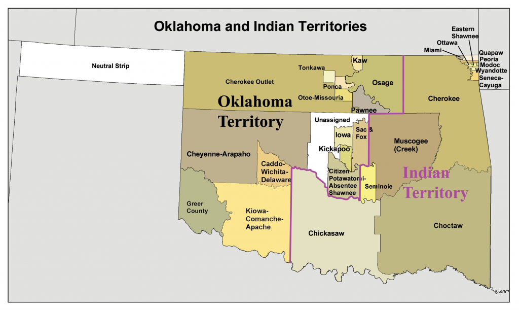 Indian Territory - Wikipedia - Texas Indian Tribes Map