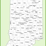 Indiana County Map   Indiana State Map Printable