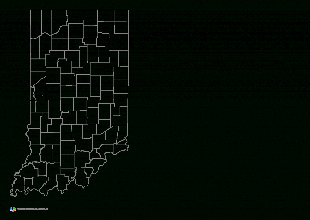 Indiana County Map Printable And Travel Information | Download Free - Indiana County Map Printable