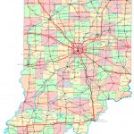 Indiana Printable Map   Indiana State Map Printable
