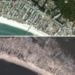 Interactive Before/after Maps Of Hurricane Michael's Wrath Online   Mexico Beach Florida Map