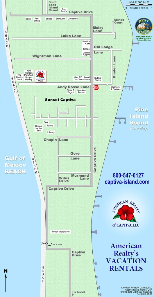 Interactive Map: Captiva, Florida (Amrc) - Captiva Island Florida Map
