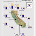 Interactive Map Of Water Levels For Major Reservoirs In California   California Reservoirs Map