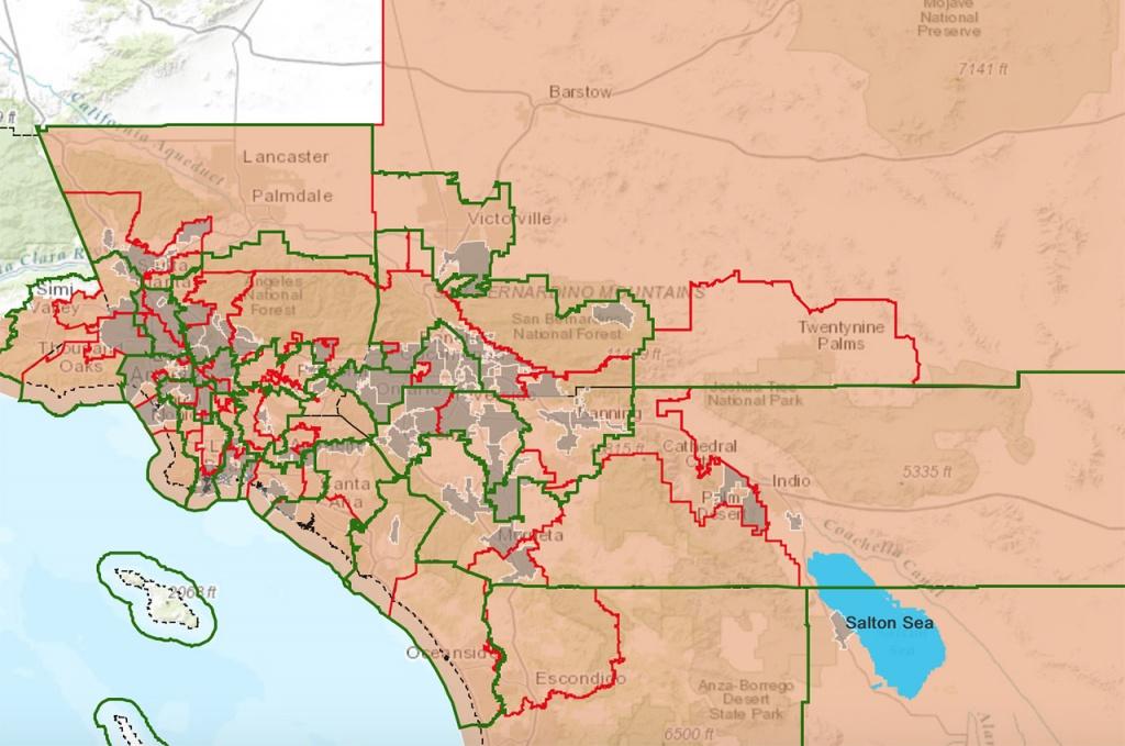 Interactive Maps – Salton Sea Authority - Salton Sea California Map
