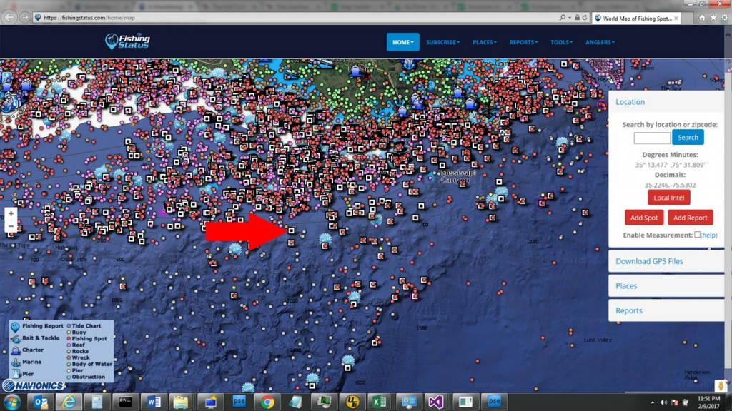 Interactive Rig Map - The Hull Truth - Boating And Fishing Forum - Texas Oil Rig Fishing Map