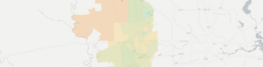 Internet In Katy: See All 25 Internet Providers | Broadbandnow - Katy Texas Map