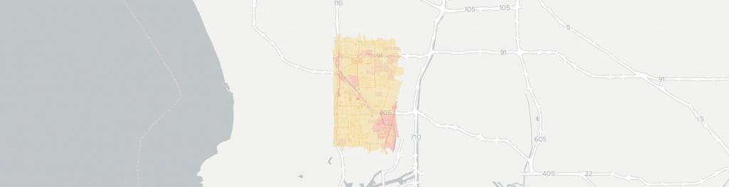 Internet Providers In Carson, Ca: Compare 20 Providers - Carson California Map