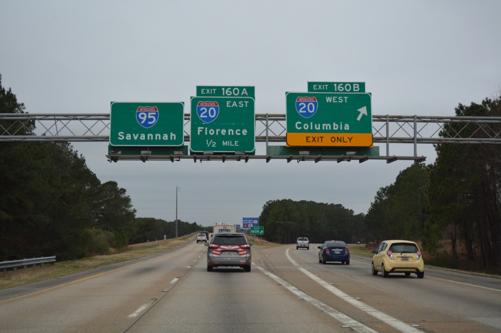 Interstate 20 - Interstate-Guide - Texas Mile Marker Map I 20