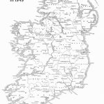 Ireland Geography   Basic Facts About The Island   Printable Map Of Ireland Counties And Towns