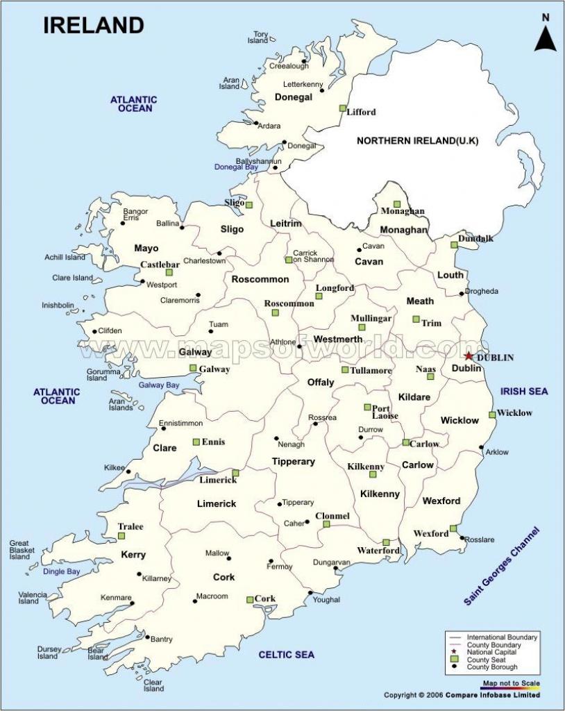 Ireland Maps   Printable Maps Of Ireland For Download - Free Printable Map Of Ireland
