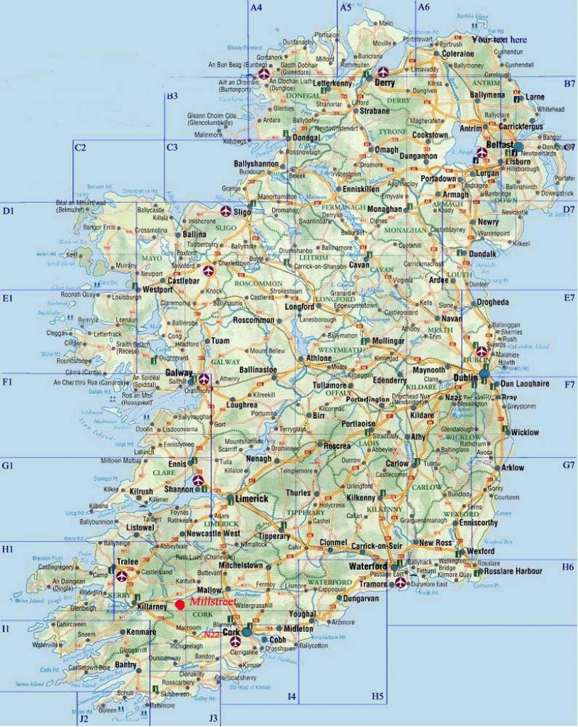 Ireland Maps   Printable Maps Of Ireland For Download - Large Printable Map Of Ireland