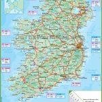Ireland Road Map   Printable Road Map Of Ireland