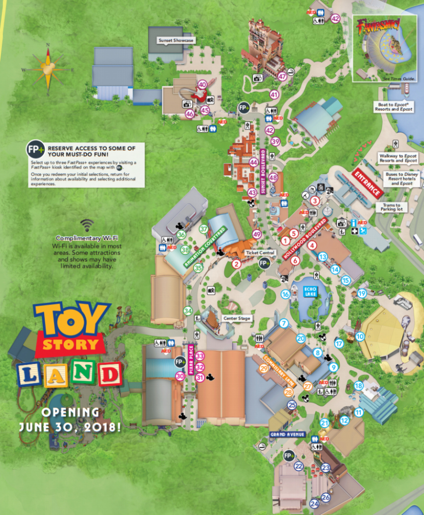 Is There A Soft Opening For Toy Story Land At Disney's Hollywood - Toy Story Land Florida Map