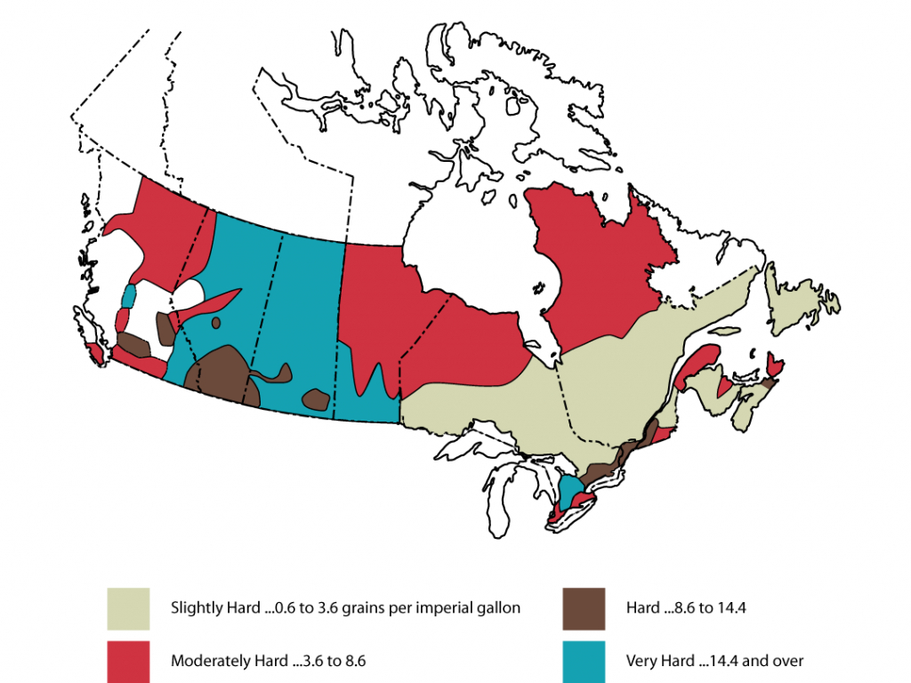 Is Watering Plants With Softened Water Good Or Bad? - Florida Water Hardness Map