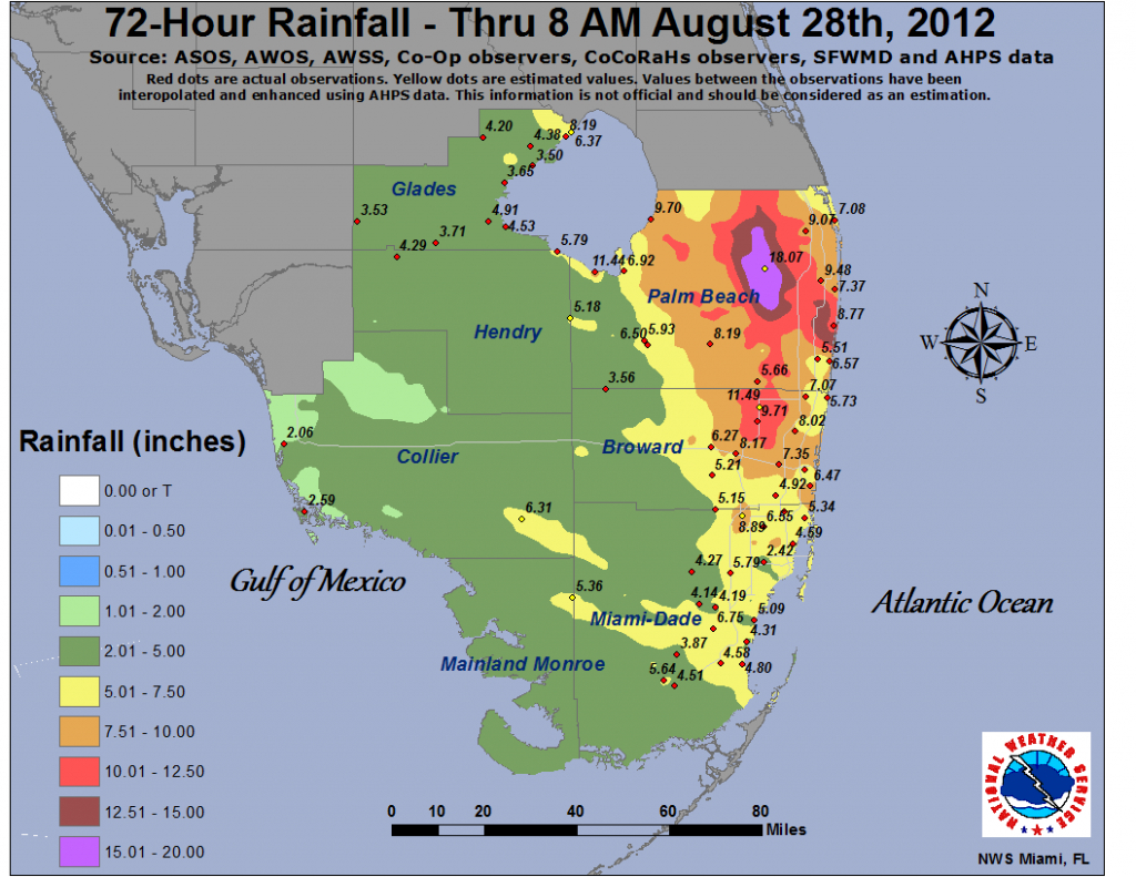Isaac - Flood Maps West Palm Beach Florida