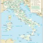 Italy — Central Intelligence Agency   Printable Map Of Italy For Kids