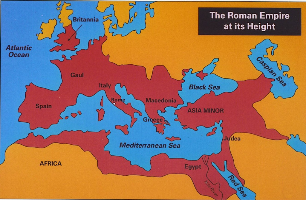Italy, Rome   Maps   Roman Empire Map, Roman Empire, Rome Map - Roman Empire Map For Kids Printable Map
