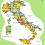 Italy Tourist Map   Free Printable Map Of Italy