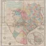 J. De Cordova's Map Of The State Of Texas… – Save Texas History – Medium   Texas General Land Office Maps