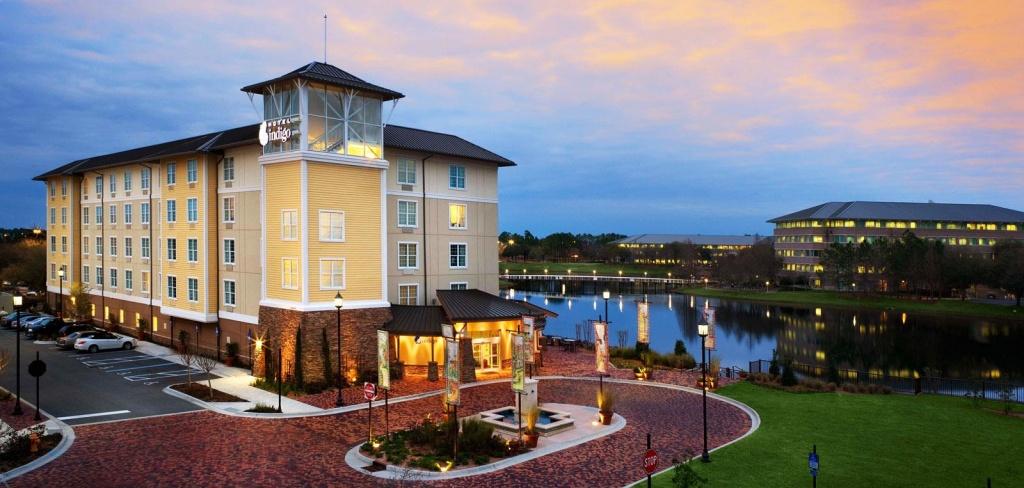 Jacksonville, Fl Hotel Map - Hotel Indigo Jacksonville - Map Of Hotels In Jacksonville Florida