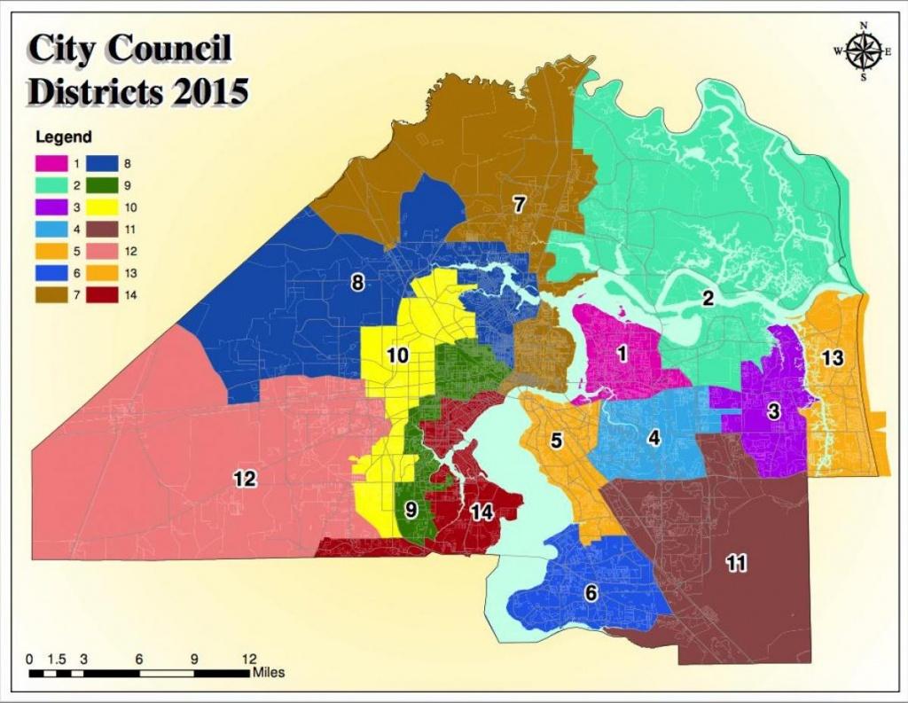 Jacksonville Fl Zoning Map - Jacksonville Zoning Map (Florida - Usa) - Florida Zone Map