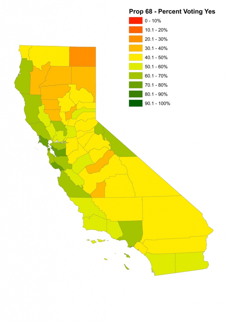 Show Map Of California Counties