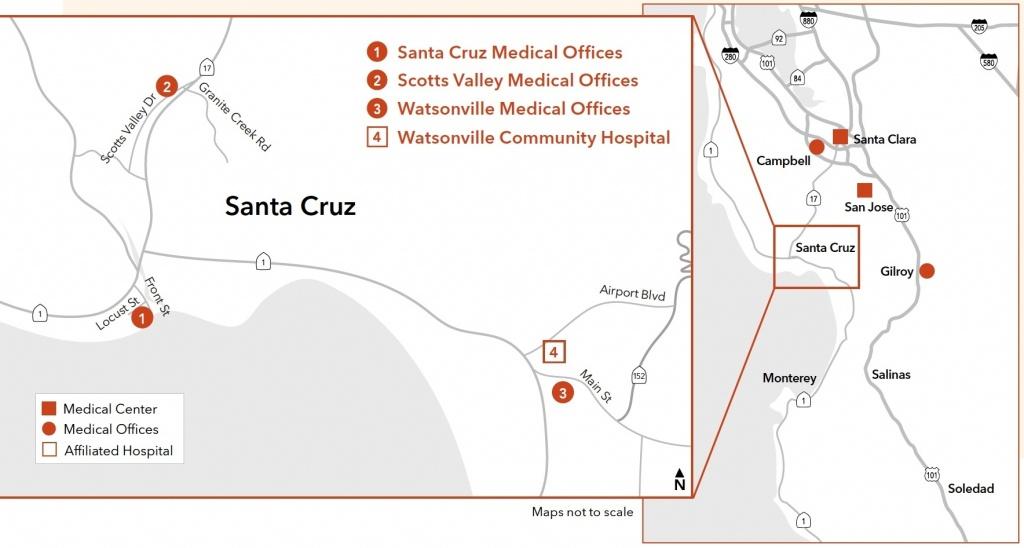 Kaiser Permanente® | Uc Santa Cruz | University Of California For - Kaiser Permanente Locations In California Map
