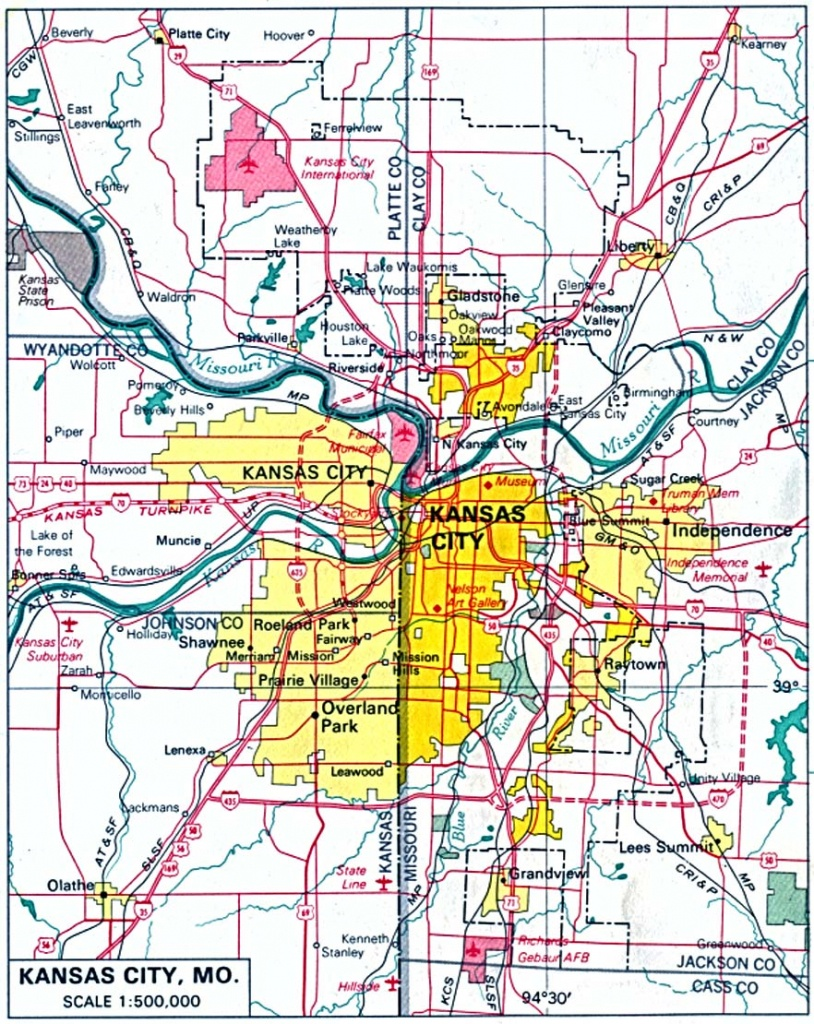 Kansas Maps - Perry-Castañeda Map Collection - Ut Library Online - Printable Street Map Of Wichita Ks