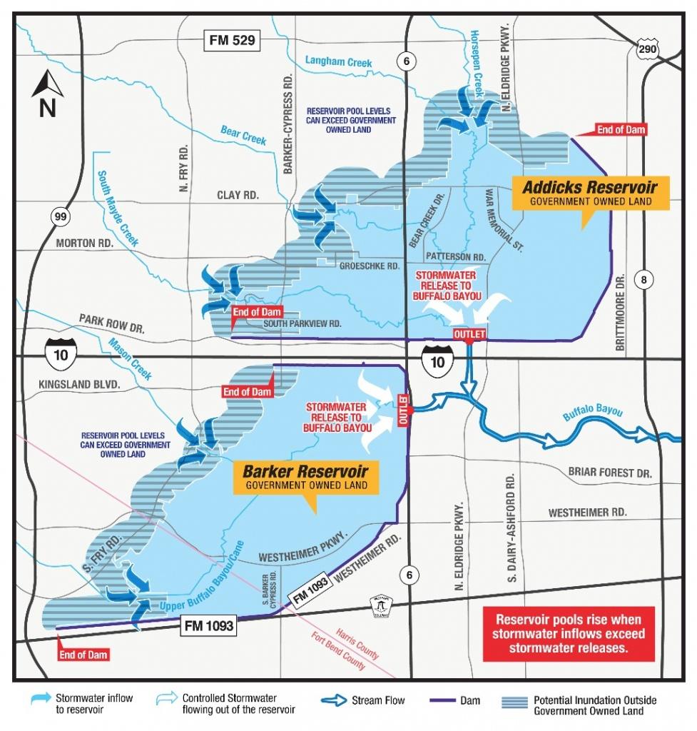 Katy Flood Zones - Katy Texas Flooding Map